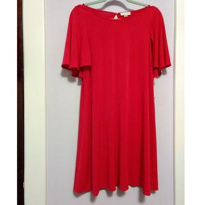 NWT Hot Pink Calvin Klein Swing Dress